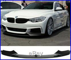 13-15 BMW F32 4 Série M Performance M Sport Pare-Choc Séparateur Spoiler