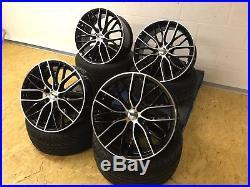 19 405 Sport Jantes Alu & Pneumatiques BMW Série 3 4 5 Z4 Noires Polies