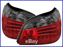 2 Feux Arriere A Led Red Fume Black V1 Bmw Serie 5 E60 Pack M Sport