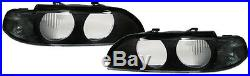 2 Vitre Optique Avant Black Sx Bmw Serie 5 E39 Break Pack Sport 11/1995-08/2000