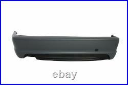 3 Série E46 98-05 Coupé/Cabriolet Arrière M-SPORT Pare-Choc Plastique ABS