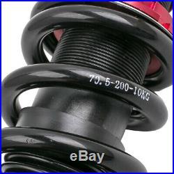 4x Suspension Struts pour BMW E60 520i 535i 03-10 série 5 Réglable Amortisseur