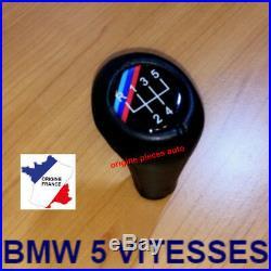 5 Vitesse Pommeau Levier Vitesse Shift M sport pour BMW E36 E46 E91 E39 série