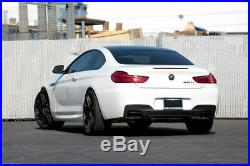 650 Réflecteur pour BMW 6 Série F06 F12 F13 Double Échappement Diffuseur M Sport