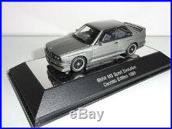 AUTOART 1/43 Série 3 E30 BMW M3 Sport Evolution CECOTTO Edition 1989