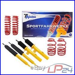 Amortisseurs Sport Réglables Avant+arrière Bmw Série 1 E82 Coupe 135 I