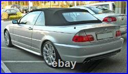 Arrière M Sport Pare-Choc Plastique ABS Pdc Pour BMW 3 Série E46 98-05 Coupé /