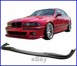 Avant Réflecteur Séparateur BMW 5 Série E39 Spoiler Jupe Noir M Sport Pare-Choc