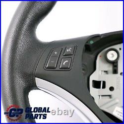 BMW 1 3 Série 7 E81 E87 E90 E91 E92 Sport Volant Multifonctions en Cuir Noir
