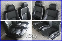 BMW 1 Série 2 E87 M Sport Cuir Noir Intérieur Siège Avec Airbag Porte Cartes