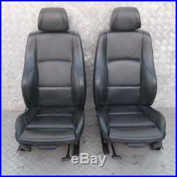 BMW 1 Série 2 E87 M Sport Cuir Noir Intérieurs Sièges avec Airbag Porte Cartes
