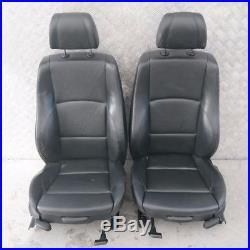 BMW 1 Série 3 E87 M SPORT CUIR NOIR intérieurs sièges avec airbag Porte cartes