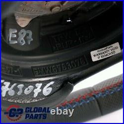 BMW 1 Série E81 E87 E88 Neuf Cuir M-SPORT Regardez Volant Tris Couleurs 6763076