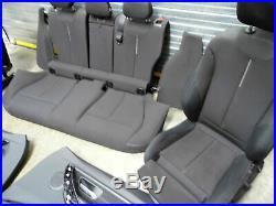 BMW 1 Série F20 LCI Intérieur Siège Porte Cartes Chiffon Tissu Sport Anthracite