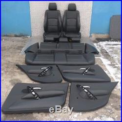 BMW 1 série 1 E87 M SPORT CUIR NOIR intérieurs sièges avec airbag Porte cartes