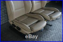 BMW 3 Série E90 M Sport Chauffé Cuir Beige Intérieur Siège avec Porte Cartes