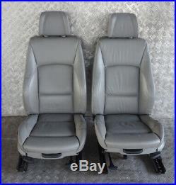 BMW 3 Série E90 M Sport Gris Cuir Intérieur Siège avec Airbag et Porte Cartes