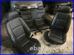 BMW 3 Série E92 Coupé interieur Cuir Noir Électrique