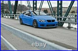 BMW 3 Serie E92 E93 M Sport M tech LCI 2010-2013 Front Lip Spoiler Splitter Aile
