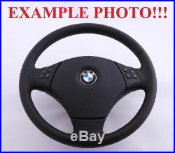 BMW 3 X1 Série E84 E90 E91 Neuf M-SPORT Aspect Volant Cuir M-TRICOLORED