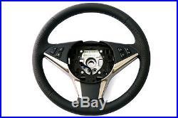 BMW 5 Série 6 E60 E61 E63 Cuir Neuf Volant Sport Noir M-TRICOLORED