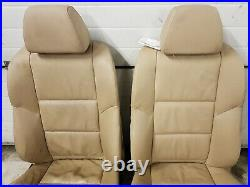 BMW 5 Série E60 E61 FRONT SPORT LEATHER SEATS WITH HEATING SET 3