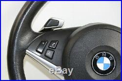 BMW 5 Série E60 E61 LCI Sport Cuir Multifonctions Direction Roue Pédales