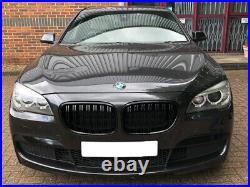 BMW 7 Série F01 F02 F03 F04 Rein Grille Noir Brillant Double Barre M Sport