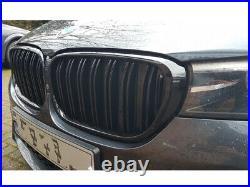 BMW 7 Série G11 G12 Rein Grille Noir Brillant Double Barre M Sport