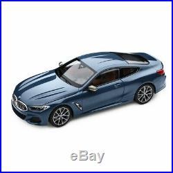 BMW 850i Coupé G15 Bleu Barcelone NOREV 118 Model Car Série 8 M Sport