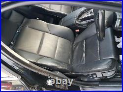 BMW E60 5 Série Complet Sport Cuir Intérieur Noir 17 Sans Chauffage