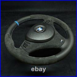 BMW E90 E82 E87 E93 E92 E81 Alcantara Cuir M3 Direction Roue M CUSTOM Sport