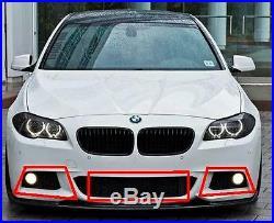 BMW F10 F11 Série 5 10-14 Original M Sport Grille de Pare-Chocs avant Set 3