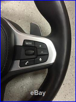 BMW M Sport G30 5 series Steering wheel airbag Shift paddles Multi function heat