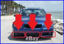 BMW Neuf D'Origine Pare Choc avant Bas Grille Set pour Série 3 E90 E91 M Sport