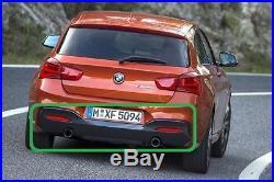 BMW Neuf D'Origine Série 1 F20 F21 2015- M Sport Diffuseur Arrière avec Double