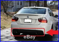 BMW Neuf D'Origine Série 3 E90 M Sport Diffuseur Arrière avec Deux Silencieux