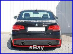 BMW Neuf D'Origine Série 3 E92 E93 M Sport Diffuseur Arrière avec Deux