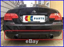 BMW Neuf D'Origine Série 3 E92 E93 M Sport Performance Diffuseur Arrière Double