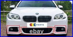 BMW Neuf Véritable F10 F11 5 Série 10-14 M Sport Acc Avant Pare-Choc Gril Set 3