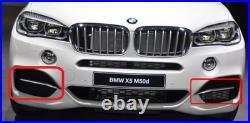 BMW Neuf Véritable X5 Série F15 M50d Avant M Sport Pare-Choc Gril Bord Paire L