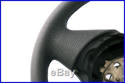 BMW Série 1 E81 E82 E87 E88 M-SPORT Aspect Neuf Volant Gainé de Cuir Noir