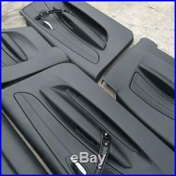 BMW Série 1 E81 M SPORT siège cuir noir intérieur avec airbag et Porte cartes