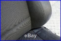BMW Série 1 E81 M Sport avant GAUCHE N/S Siège Passager Noir