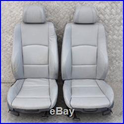 BMW Série 1 E87 M Sport Cuir Gris Intérieurs Sièges avec Airbag Porte Cartes