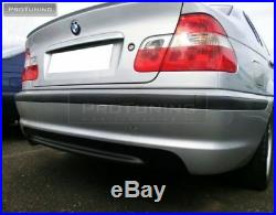BMW Série 3 E46 Berline Arrière M Sport II 2 Pare-Choc ABS Neuf No Pdc