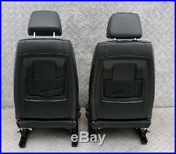 BMW Série 3 E90 M Sport Cuir Noir Intérieur Sièges avec Airbag et Porte Cartes