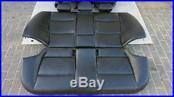 BMW Série 3 E90 M Sport Cuir Noir Intérieurs Sièges avec Airbag et Porte Cartes