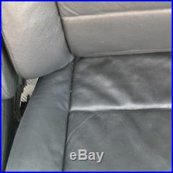 BMW Série 5 E60 E61 CUIR NOIR AVANT SPORT siège CÔTÉ CONDUCTEUR PASSAGER