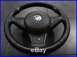 BMW Série 5 E60 E61 VOLANT M Package SPORT Airbag en cuir multifonctionnel